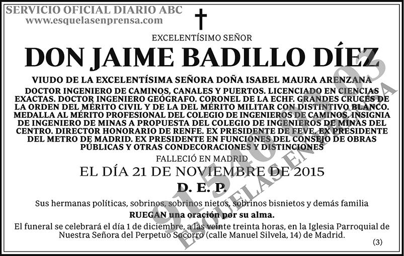 Jaime Badillo Díez